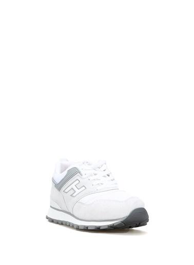 Hammer Jack Hakiki Deri Kirli Beyaz-Kadın Ayakkabı 102 19252-G Renkli